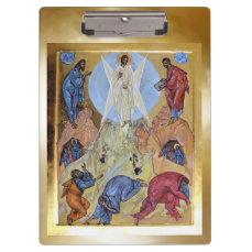 Transfiguration of Christ Clipboard