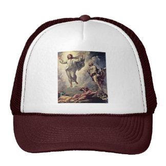 Transfiguration Of Christ Detail By Raffael Trucker Hat