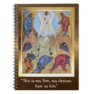 Transfiguration of Christ Notebook