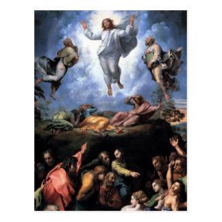 TRANSFIGURATION OF JESUS POSTCARD
