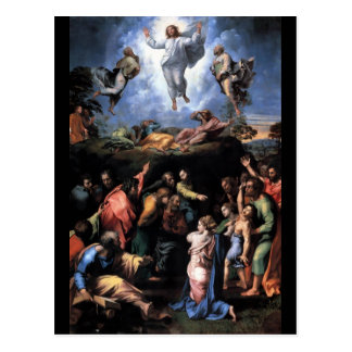 TRANSFIGURATION OF JESUS POST CARD