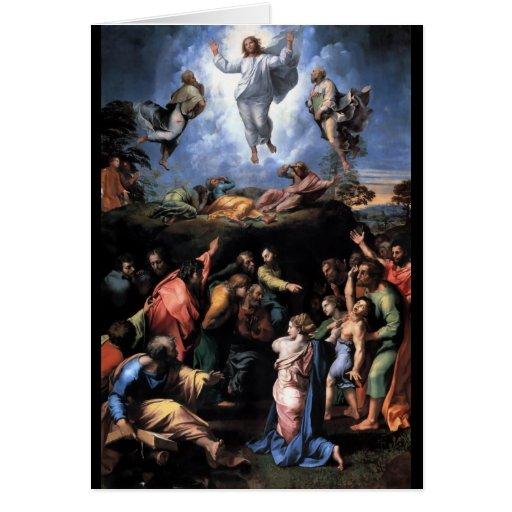 TRANSFIGURATION OF JESUS STATIONERY NOTE CARD