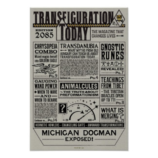Transfiguration Today Magazine Poster