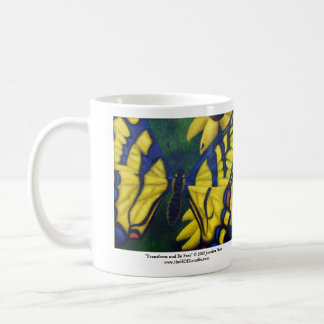 Transform and Be Free Mug (Left Handed)