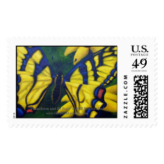Transform and Be Free Postage Stamp