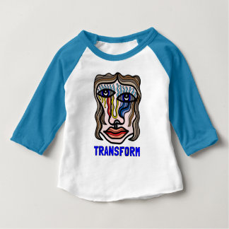 """Transform"" Baby 3/4 Raglan T-Shirt"