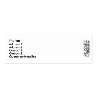 Transform Mini Business Card