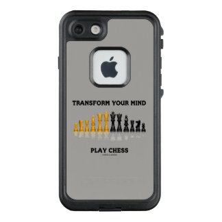 Transform Your Mind Play Chess Advice Chess Set LifeProof FRĒ iPhone 7 Case
