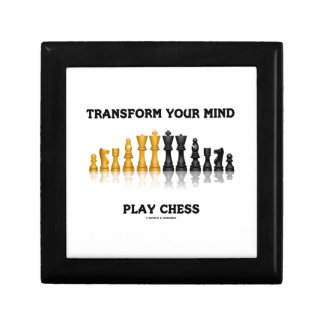 Transform Your Mind Play Chess (Reflective Chess) Jewelry Box