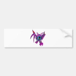 Transformable Battler Zauhawk Bumper Sticker