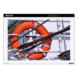 Transformación digital de la pintura de Lifebuoy Portátil 43,2cm Skins