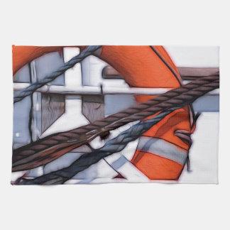 Transformación digital de la pintura de Lifebuoy Toalla De Mano