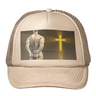 Transformación religiosa al cristianismo gorros bordados