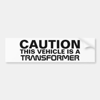 Transformador Pegatina Para Auto