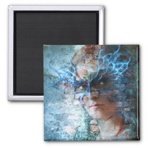 Transformation 2 Inch Square Magnet