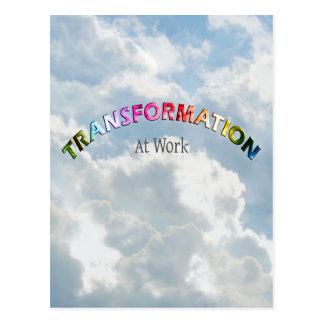 Transformation at Work - Multiple Products Postcard