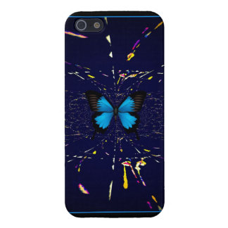 Transformation Blue Butterfly i-phone 5 case