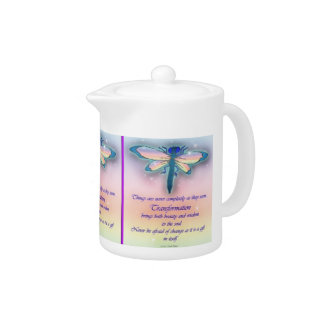 """Transformation"" DRAGONFLY Teapot"