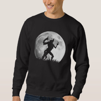 Transformation Into a Werewolf at Full Moon - Cool Sweatshirt