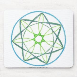 Transformation Mandala #2 Mouse Pads