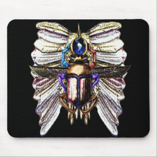 Transformation- Scarab/ Butterfly- Egyptian Mouse Pad