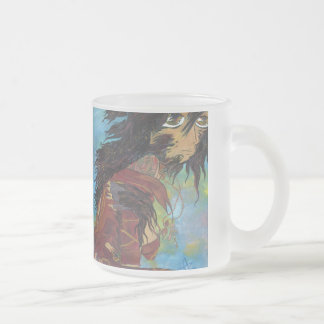 Transformation Siris from Monster Book One 10 Oz Frosted Glass Coffee Mug