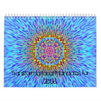 Transformational Mandalas for 2008 Calendars