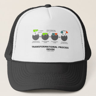 Transformational Process Inside (Enzyme Substrate) Trucker Hat