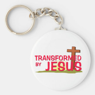 Transformed By JESUS Keychain