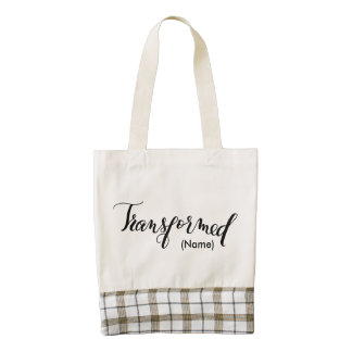 Transformed Custom Zazzle HEART Tote Bag