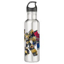 Transformers | Bumblebee & Optimus Prime In City Stainless Steel Water Bottle