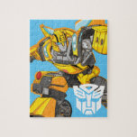 "Transformers | Bumblebee Pointing Pose Jigsaw Puzzle<br><div class=""desc"">Check out this Generation 1 Transformers Bumblebee character art posed while pointing and looking to the side.</div>"