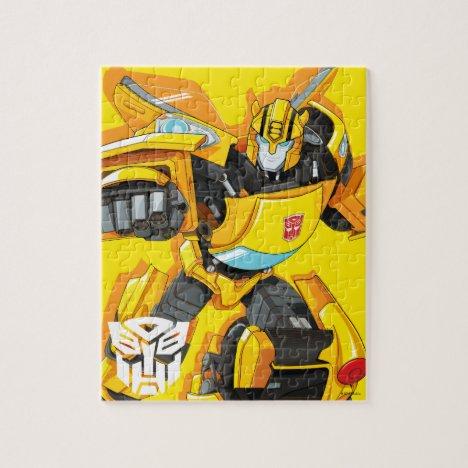 Transformers | Bumblebee Punching Pose - Kids