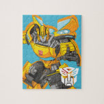 "Transformers | Bumblebee Reach Pose Jigsaw Puzzle<br><div class=""desc"">Check out this Generation 1 Transformers Bumblebee character art posed while reaching forward.</div>"