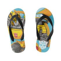 Transformers | Bumblebee Reach Pose Kid's Flip Flops