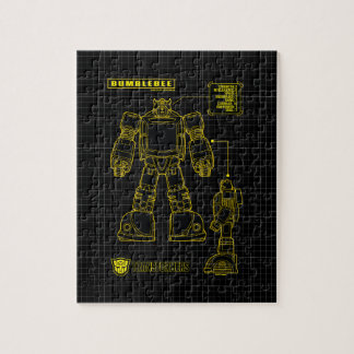 Transformers | Bumblebee Schematic Jigsaw Puzzle