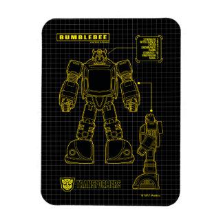 Transformers | Bumblebee Schematic Magnet