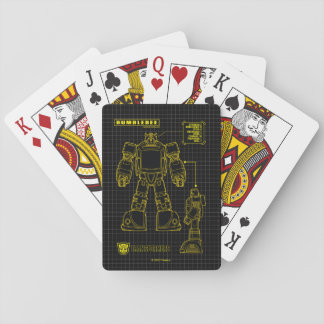 Transformers | Bumblebee Schematic Playing Cards