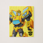 """Transformers   Bumblebee Standing Pose Jigsaw Puzzle<br><div class=""""desc"""">Check out this Generation 1 Transformers Bumblebee character art posed standing tall with fists clenched.</div>"""