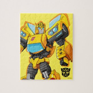 Transformers | Bumblebee Standing Pose - Kids Jigsaw Puzzle