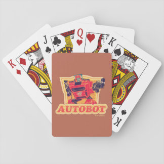 Transformers | Cliffjumper Autobot Playing Cards