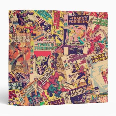 Transformers   Comic Book Print