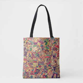 Transformers | Comic Book Print Tote Bag