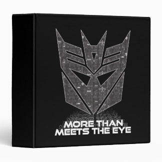 Transformers | Decepticon Shield Revealed 3 Ring Binder