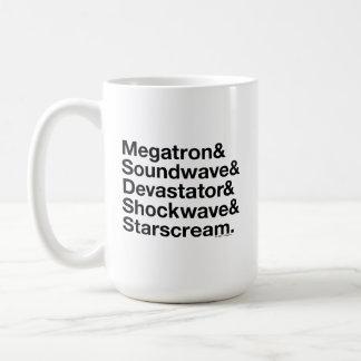 Transformers   Decepticons Ampersand Coffee Mug