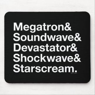 Transformers | Decepticons Ampersand Mouse Pad