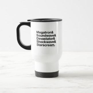 Transformers   Decepticons Ampersand Travel Mug