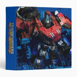 Transformers FOC - 2 Vinyl Binders