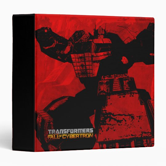 Transformers FOC - 6 Binder