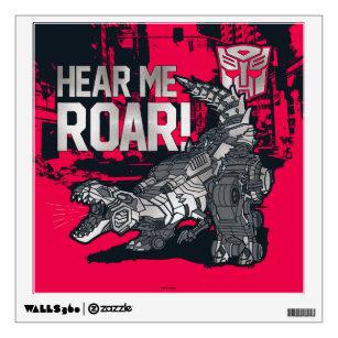 Transformers 3D Effect Wall Sticker Art Decal 307